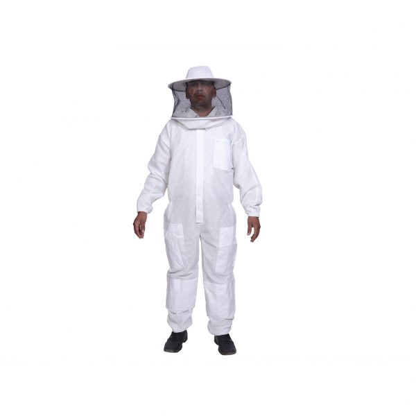 ventilated bee suit round