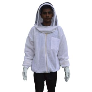 3 layer Ventilated bee jacket squre