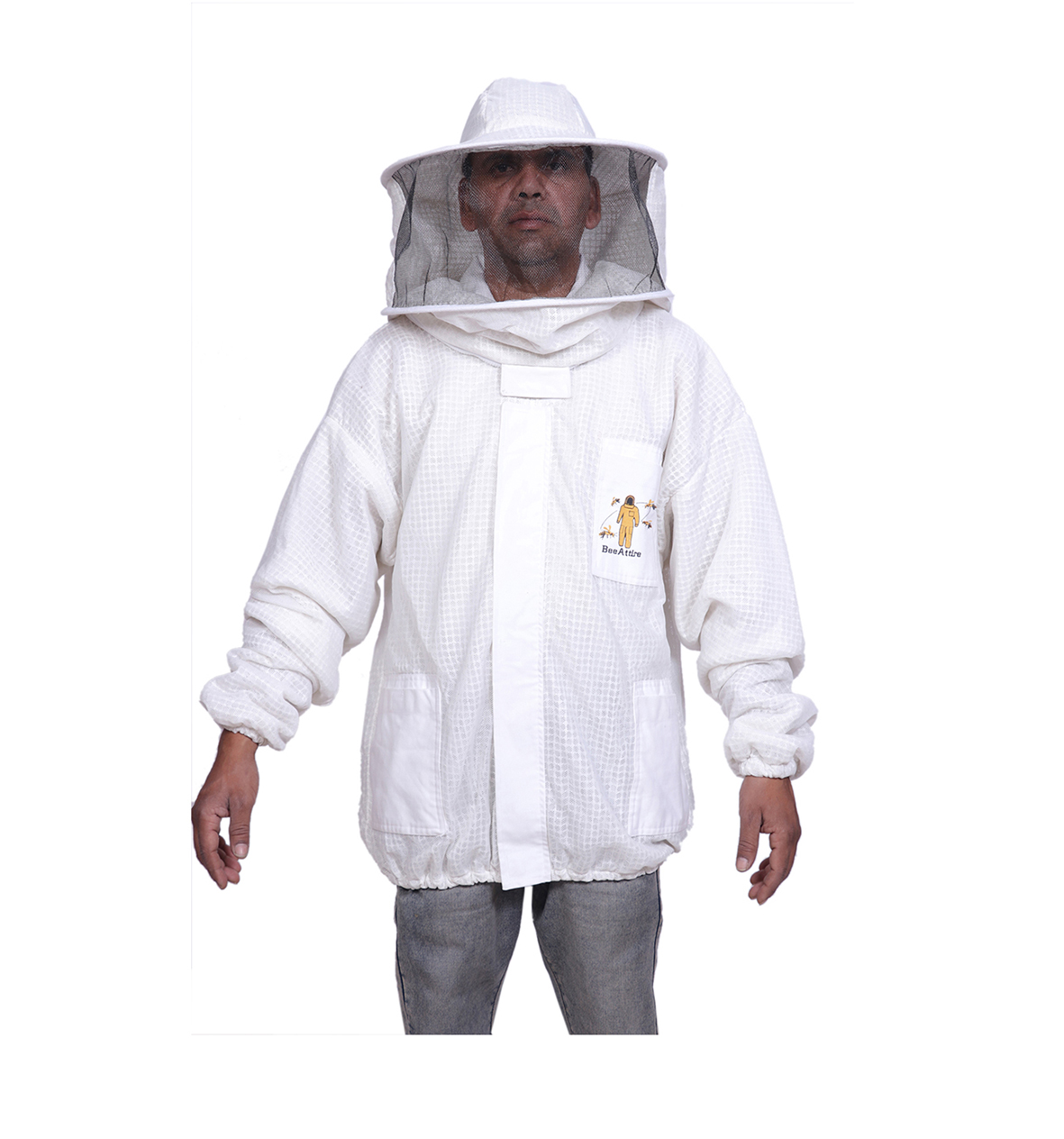 4XL Ventilated Bee Suit 3 layer mesh Beekeeping costume Beekeeper Ultra vented